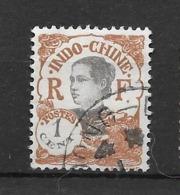 1922 - 23 : Centre Et Valeur En Rouge : N°100 Chez YT. (Voir Commentaires) - Indochine (1889-1945)