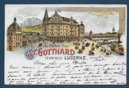 LUCERNE - Hôtel St Gotthard - LU Lucerne
