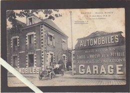 Nantes / Mécanicien Morio, Quai Baco / Garage Automobiles / Rare / Voir état - Nantes