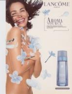 """PUBBLICITA' ADVERTISING CARTOLINA PROMOCARD """"LANCOME - PARIS"""" - N°3654 - Publicité"""