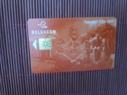 Phonecard Atomium 1000 BEF Used  GI  31.07.2001 Only 10.000 Made Rare - Belgique