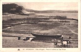 FR33 ARCACHON -cap 112 - Parc à Huitres Au Cap Ferret - Animée - Belle - Arcachon