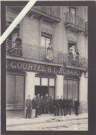 Nantes / Tissus En Gros Courtel & Robard, Quai Des Tanneurs, Avec Son Personnel Moustachu - Nantes