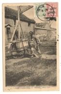 PEKIN, PORTEUR D'EAU, PEKING WATER CARRIER  WATER CART  - Beijing CHINE PETITS METIERS  B1189 - Cina