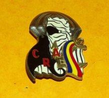 8 & 1° Régiment Para. D'Infanterie De Marine, C.R.A. Manta Au Tchad, FABRICANT DELSART SENS ,HOMOLOGATION SANS, ETAT VOI - Heer