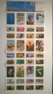 Bloc De Timbres / USA / 36  Vignettes Neuves /  National Wildlife Federation Stamps 1986 - Erinnofilia