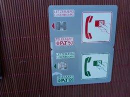 2 Phonecards Luxemburg Numbers C44144700 + C47145848 Used Rare - Luxemburg