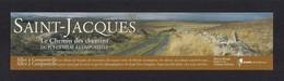Marque Page. Le Chemin De St Jacques De Compostelle.  Rando éditions - Bladwijzers