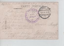 CBPN2/ CP Ostende Hôtels De La Digue K.D.Feldpost 1917 + Brief Stempel C.de L'Unité > Deutschland - Deutsche Armee