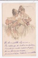CP ILLUSTRATEUR  Femmes - 1900-1949