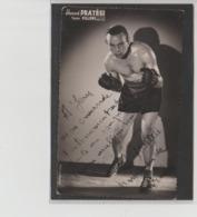 .BOXING.BOKSEN. PHOTO. Lansival       . BOXEUR  HONORE PRATESI    TEAM   FILIPPI   SIGNEE - Boxing