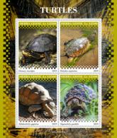 Sierra Leone 2019 Turtles Fauna Turtle S/S SRL190918 - Sin Clasificación