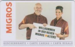 GIFT CARD - SWITZERLAND - MIGROS 641 - MALTERS - Tarjetas De Regalo