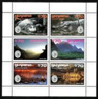 Guyana Nº 3449/54 En Nuevo - Guyana (1966-...)