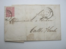 1871 , EUPEN , Lettre - [OC55/105] Eupen/Malmedy