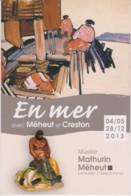 MATHURIN MEHEUT - En Mer - CRESTON - PSEUDO CPM TBon Etat (voir Scan) - Paintings