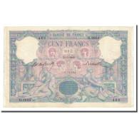 France, 100 Francs, Bleu Et Rose, 1900-05-31, TTB+, Fayette:21.13, KM:65b - 1871-1952 Anciens Francs Circulés Au XXème