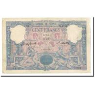 France, 100 Francs, Bleu Et Rose, 1899-08-18, TTB, Fayette:21.12, KM:65b - 1871-1952 Anciens Francs Circulés Au XXème