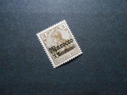 D.R.Mi 34**MNH - Deutsche Auslandspostämter ( MAROKKO ) 1906 - Mi 24,00 € - Offices: Morocco