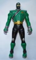 Ancienne Figurine BANDAI 2010 /   16.3 Cm  POWER RANGERS TETE INTERCHANGEABLE - Power Rangers