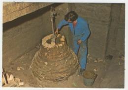 50 - Villedieu-les Poêles -  Fonderies De Cloches   -  Fabrication D'un Noyau - Villedieu