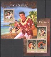 TT486 2016 SIERRA LEONE FAMOUS PEOPLE ELVIS PRESLEY KB+BL MNH - Elvis Presley