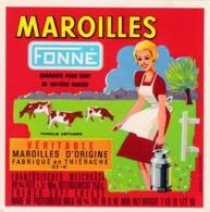 ETIQUETTE FROMAGE - MAROILLES -  MIGNON -  FONNE -   Fab En THIERACHE  AISNE  02-K - Cheese