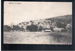 CROATIA  Metkovic Sa Zapada 1911 Old Postcard - Kroatië