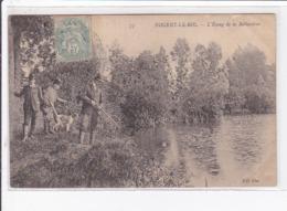 NOGENT LE ROI : L'étang De La Ballastière (chasse) - état - Nogent Le Roi