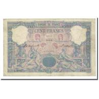 France, 100 Francs, Bleu Et Rose, 1899-08-16, TB, Fayette:21.12, KM:65b - 1871-1952 Anciens Francs Circulés Au XXème