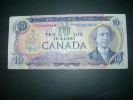 Canada.  10 Dollars 1971 - Canada