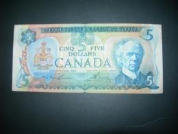 Canada.  5 Dollars 1979 - Canada