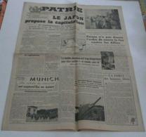 Patrie Du 11 Août 1945.(Munich La Mecque Des Nazis) - Riviste & Giornali