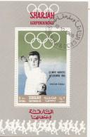 Sharjah 1968 Bf. 513 Scherma Fioretto C. D'Oriola Oro Nuovo Preoblt. Perforato. Olimpiadi Melbourne 1956 - Sharjah