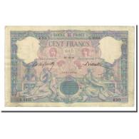 France, 100 Francs, Bleu Et Rose, 1897-10-27, TB+, Fayette:21.10, KM:65b - 1871-1952 Anciens Francs Circulés Au XXème