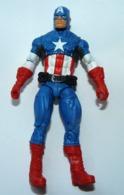 Ancienne Figurine ASBRO  10.5 Cm  CAPTAIN AMERICA - Marvel Heroes