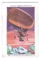 Image Collection Bozon Verduraz Aéronautique & Aviation Dirigeable Zeppelin 1898 Varidé Voyages Polaires Ours A30-65 - Vieux Papiers