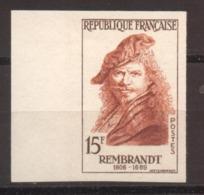 Série Personnages Célèbres Rembrandt YT 1135 De 1957 Sans Trace De Charnière - France