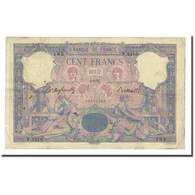 France, 100 Francs, Bleu Et Rose, 1897-06-01, TB, Fayette:21.10, KM:65b - 1871-1952 Anciens Francs Circulés Au XXème