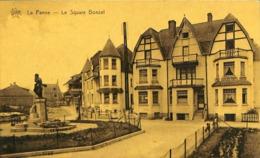 CPA - Belgique - De Panne - La Panne - Le Square Bonzel - De Panne