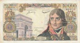 BILLET 10000 FRANC BONAPARTE--06-11-1956 VOIR SCANNER - 1871-1952 Anciens Francs Circulés Au XXème