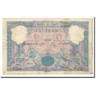 France, 100 Francs, Bleu Et Rose, 1896-08-25, TB, Fayette:21.9, KM:65b - 1871-1952 Anciens Francs Circulés Au XXème