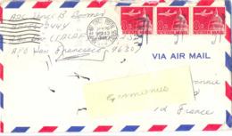 ETATS-UNIS  ARMY & AIR FORCE POSTAL SERVICE OMec JAN 20 96243 1966  - TIMBRES ANNULÉS PAR GRIFFE - Vereinigte Staaten