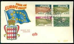Monaco 1962 FDC Europa CEPT - FDC