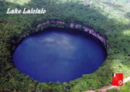 1 AK Wallis Und Futuna * Blick Auf Den See Lalolalo Auf Der Insel Uvea Uvea (auch Wallis) - Luftbildansicht * - Wallis And Futuna