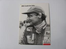 Automobile - Autographe - Carte Signée Niki Lauda - Grand Prix / F1