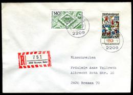 07689) BRD - Mi 921 / 922 - R-FDC - 140Pf Europarat / 50Pf   Till Eulenspiege - [7] República Federal