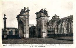N°76271 -cpa Le Neubourg -château Du Champ De Bataille- Nouvel Hôpital- - Le Neubourg