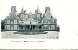N°76274 -cpa Château De Randan -environs De Vichy- - Sonstige Gemeinden