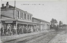 CPA - PAUILLAC - LA GARE - 1918 - Pauillac